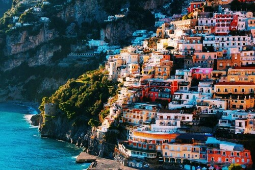 beach, italy, ocean, positano, sea, summer, travel, tumblr