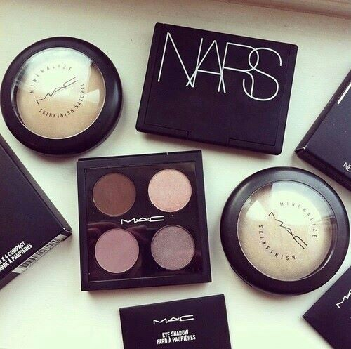 awesome, beauty, cheek and eye shadow