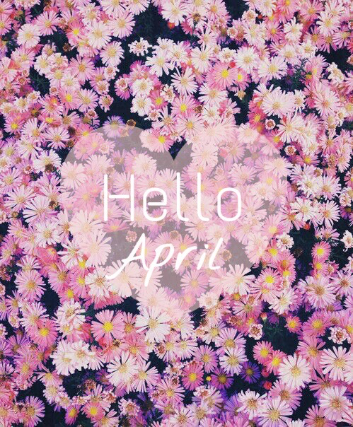 april, flower, flowers and goodbye march