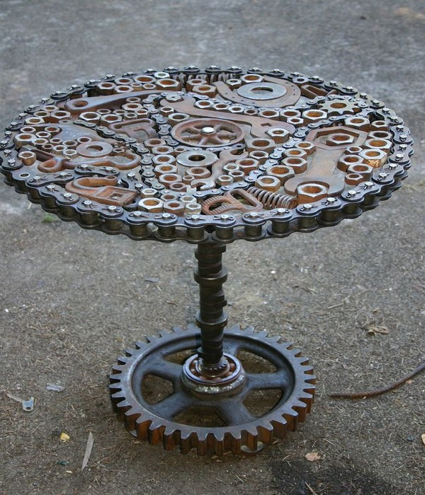 Recycled Crafts, Recycled Metal Crafts, Recycled Metal Art and Reuse Metal Designs