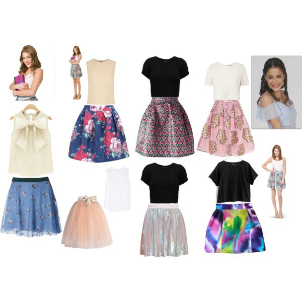 Violetta Style Polyvore Image 2721633 By Taraa On