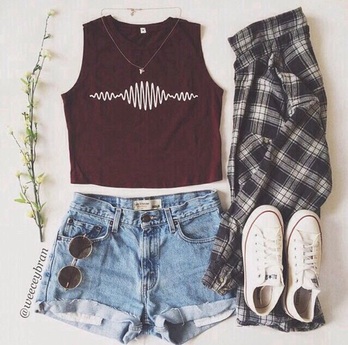 Flannel | via tumblr - image #2740713 by taraa on Favim.com