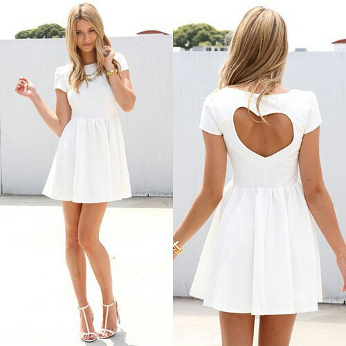 *o*, accessories, beautiful, dress, fashion, girl, girly, hair, look, model, outfit, shoes, style, styles, white dress, the dress *o*