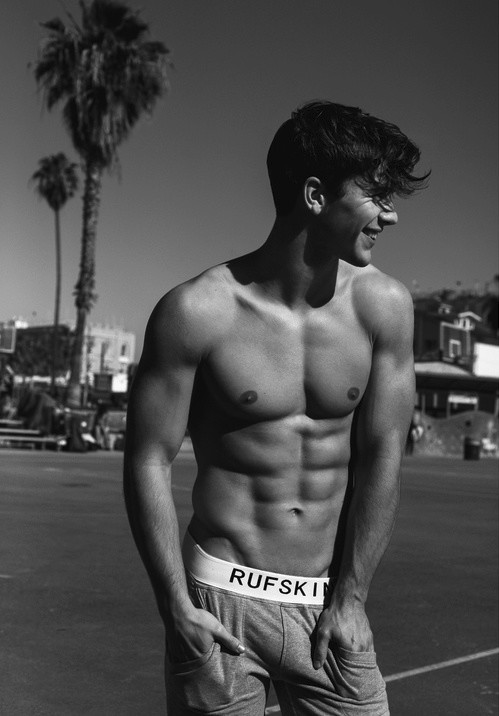 abs, be skinny, beautiful, black and white, boy, corp, cute, man, pretty
