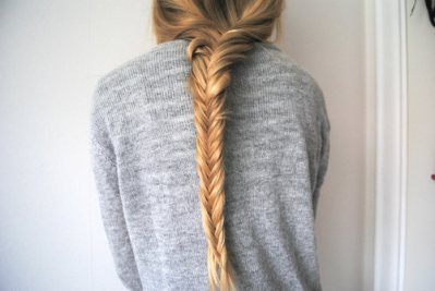blond hair, braid, fashion, fishtail braid, girl