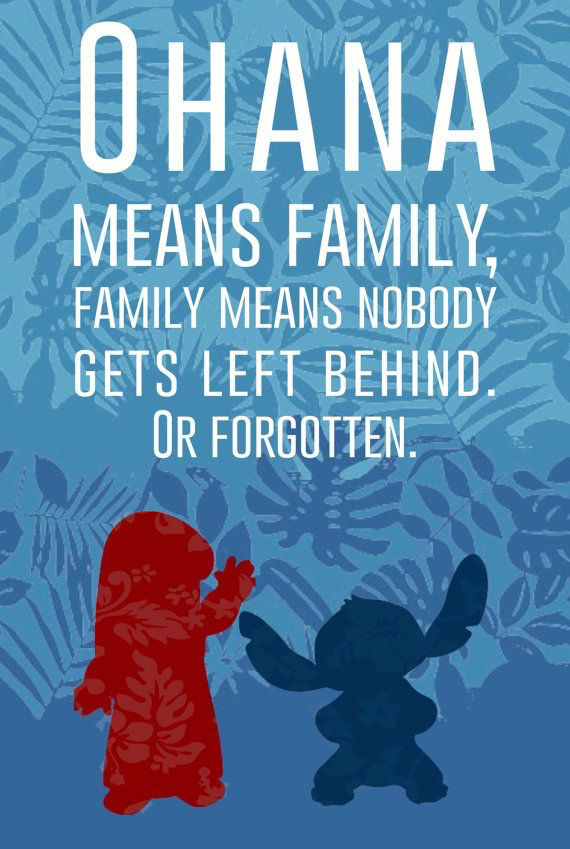 stitch ohana quote wallpaper - photo #12