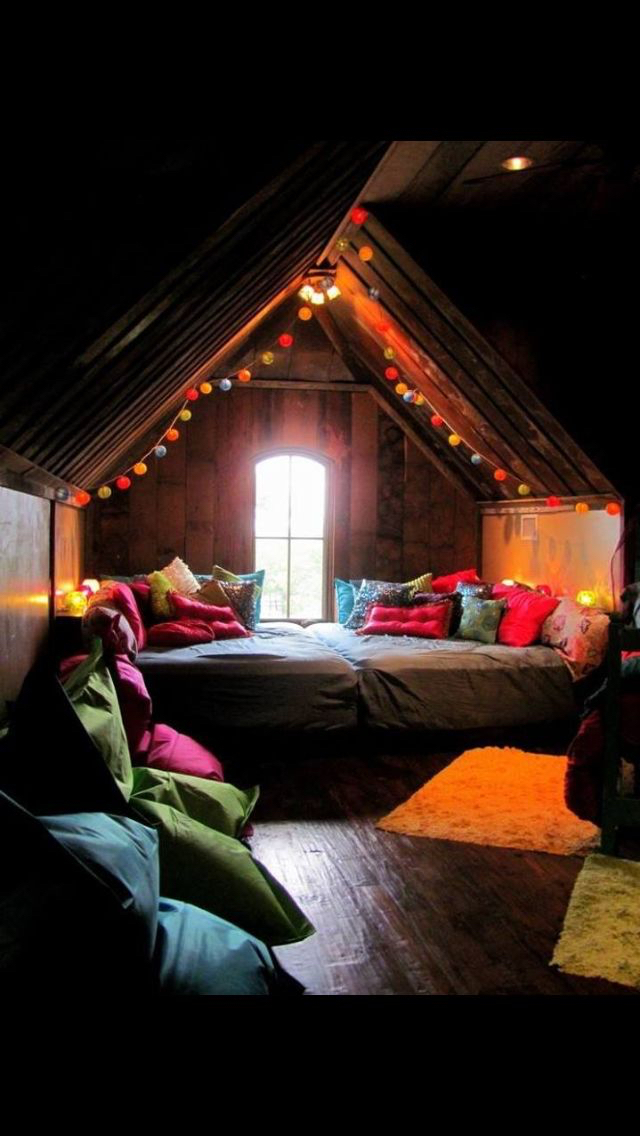 attic bedroom ideas tumblr - Original size of image Favim