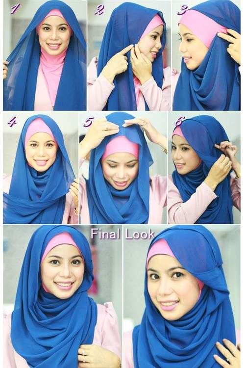 30 Hijab Styles Step By Step Style Image 2857783 By Stylearena On