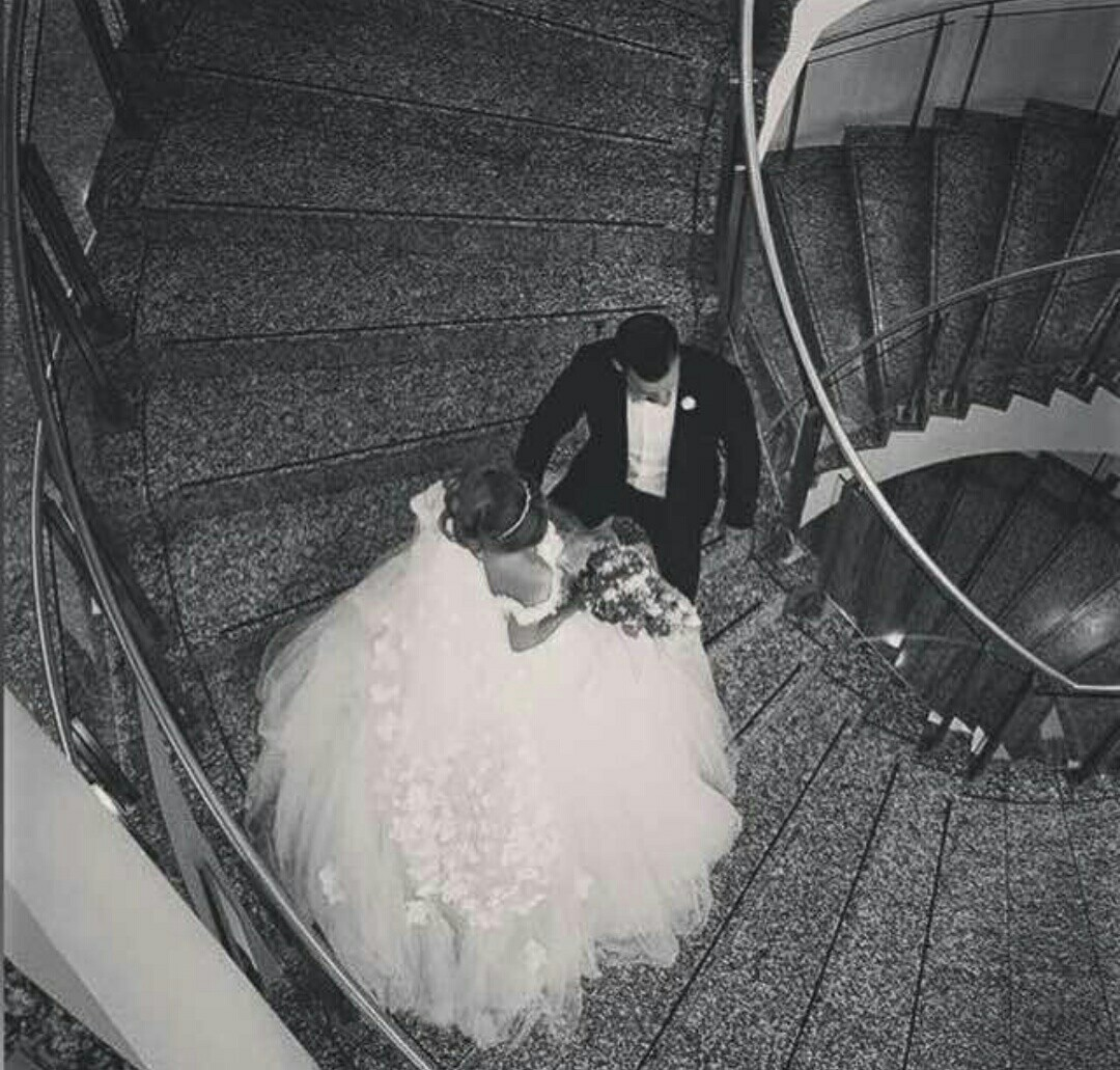 black and white, bride, groom and wedding