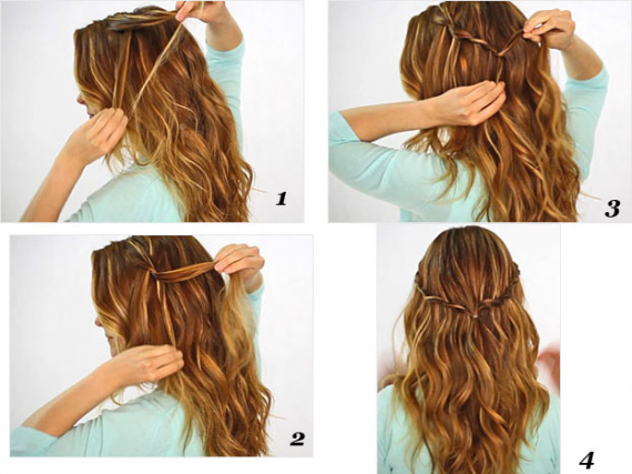 Cool hair styl cool-easy-facil-fash