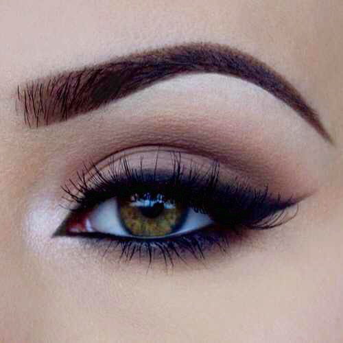 beautiful, cute, eyebrows and eyeliner