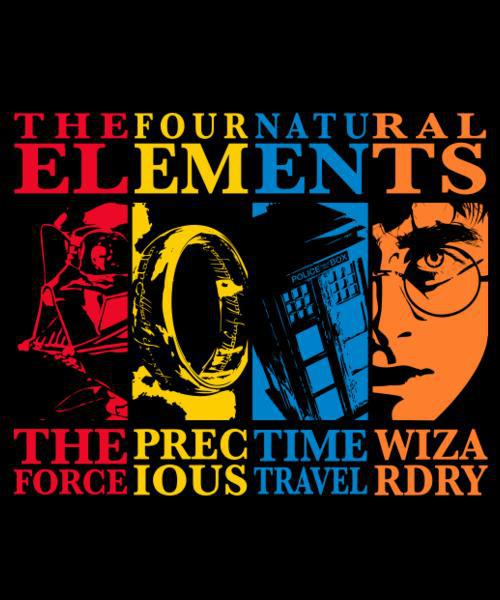 The Four Natural Elements By Qwertee Image 2911253 On Favim Com