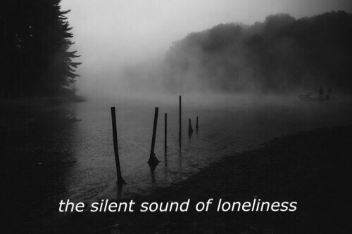 alone black and white bw grunge lonely nature quote sad