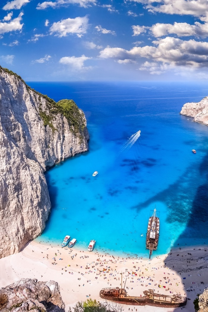 beach, blue, exotic and greece
