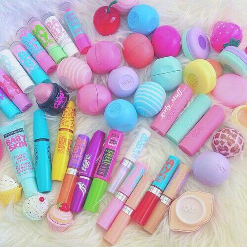 baby lips, cosmetics, eos, lip gloss, lips stick, make up, mascara