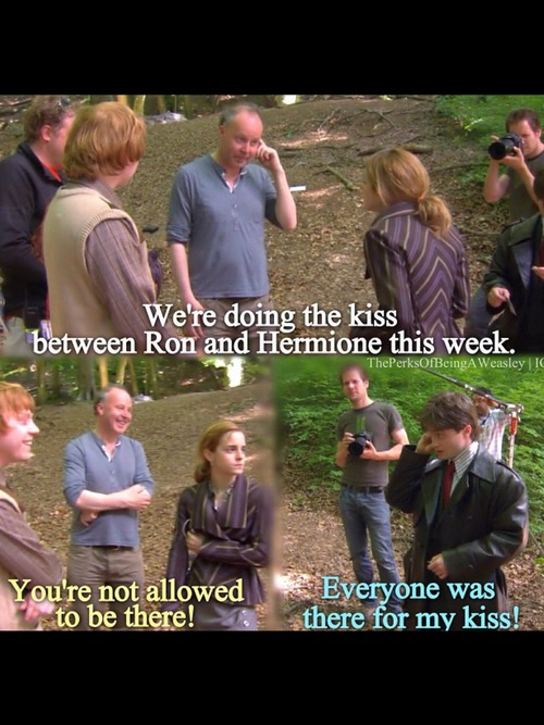 funny, hermione, lol and ron