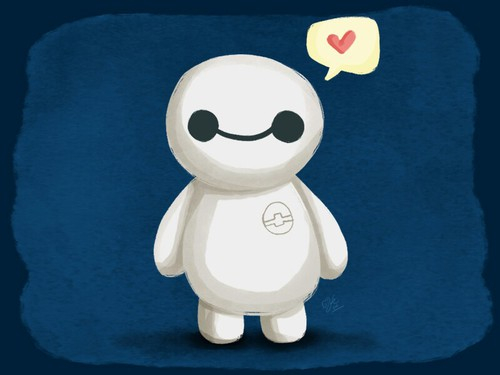 ballon, cute, love, big hero 6, baymax, bay max - image ...