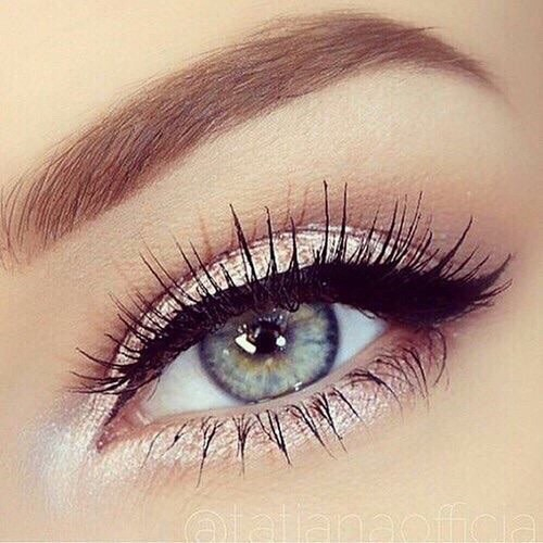 blue eyes, eye makeup, eyebrows and eyes