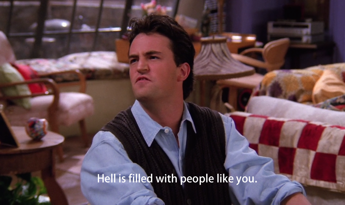 chandler bing, f.r.i.e.n.d.s., friends and friends tv show