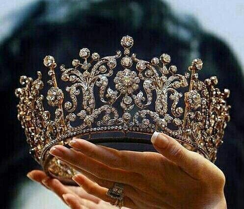 crown, diamonds, princess, queen, tiara