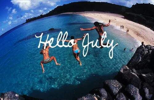 birthday, hello, july and month