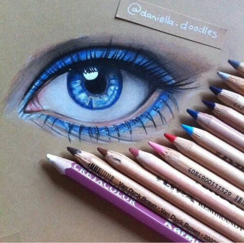 amazing, blue, colors and drawing