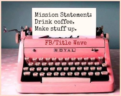 books, coffee, pink, reading, story, typewriter, writer, writing