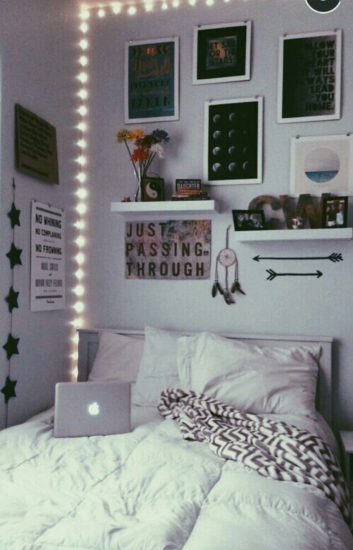 Tumblr room inspiration image 3043513 by maria d on for Bedroom decor inspiration