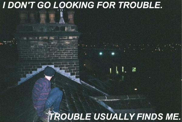 alternative, bad boy, city, darkness, grunge, hipster, night, pale, quotes, scape, trouble, wild, words