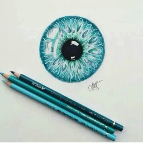 beautiful, colors, draw and eye