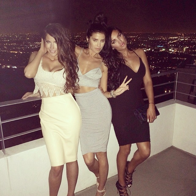 girls, party, roof and style