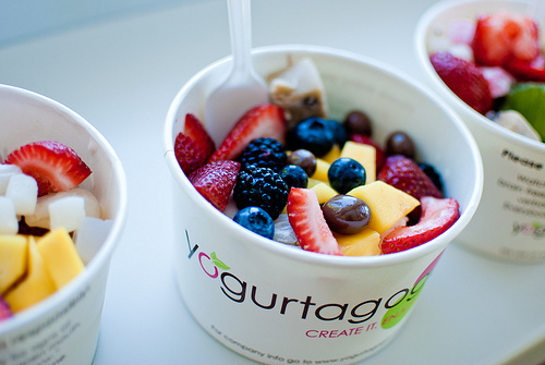 Berries berry cold food fresh frozen yogurt fruit fruits summer summer time summertime - Refreshing dishes yogurt try summer ...