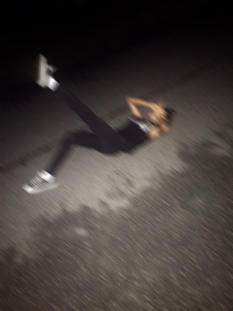aesthetic, beautiful, black and white, blur, blurry, feet, foot, girl, gorgeous, grunge, kick, me, motion, motion blur, nature, pale, pretty, road, soft grunge, street, pale grunge