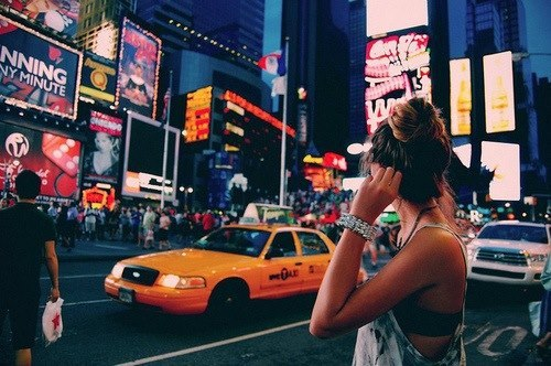 city, dreams, fantasy, fashion, girl, hopes, inspiration, light, modern, new york, night, party, photography, places, travel