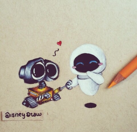 Colors Cute Disney Draw Draws Eyes Fantastic Love Nice Only