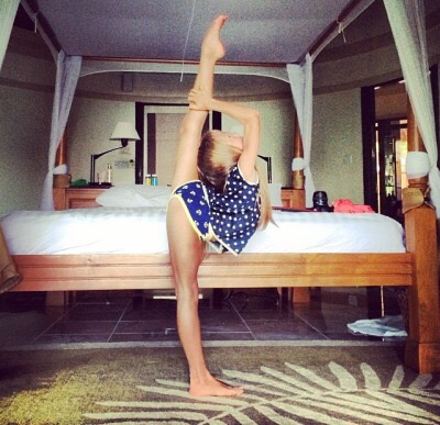 beautiful, dance, danse, girl, gym, gymnastique, kristina pimenova, little girl, mannequin