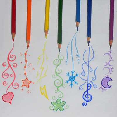 art, color, design and draw