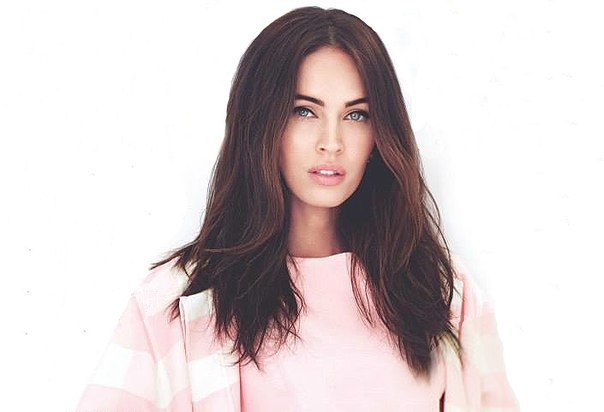 fashion, girl, hair, megan fox, pink, pretty, white