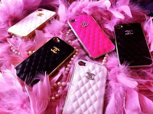 Chanel Cute Girly Iphone Cases Pink Tumblr Image