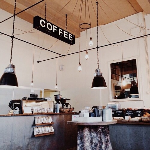 Brown city coffee collection heart indie love shop for Interior design places near me