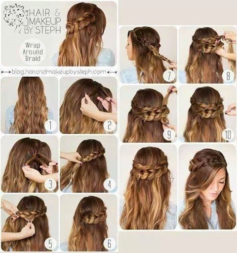 diy, hair, hair tutorials and tutorial