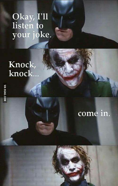 batman, funny, joker and quote