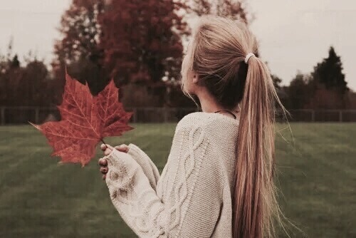 fall, girl, hello october and october