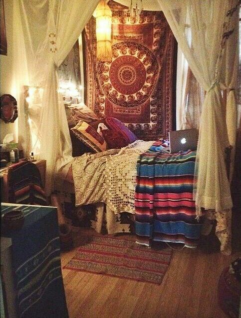 Room goals image 3594262 by maria d on for Gypsy bedroom decor