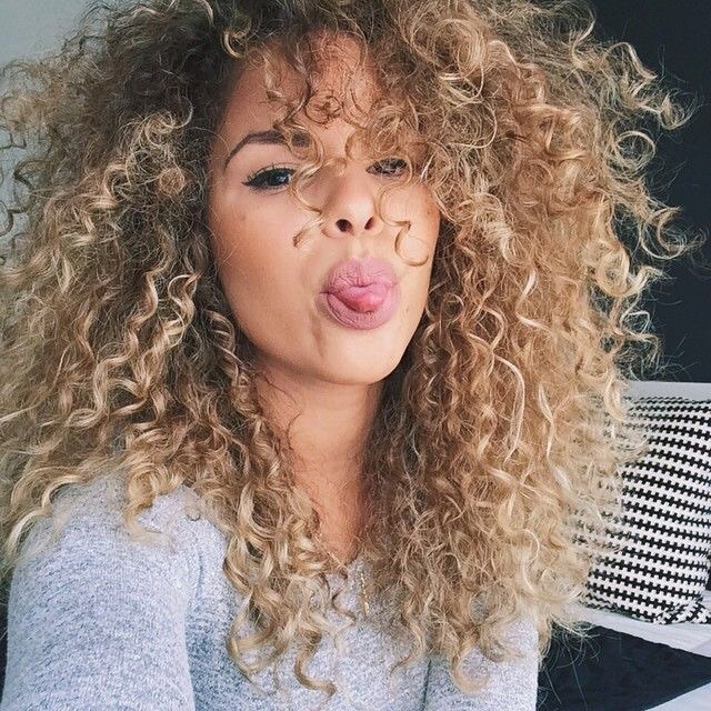beauty, blonde hair, curly hair and girl