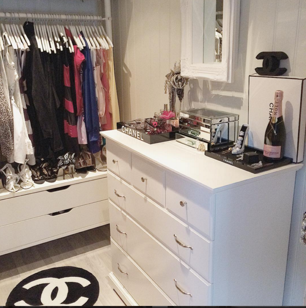 apartment, bedroom, chanel and decoration