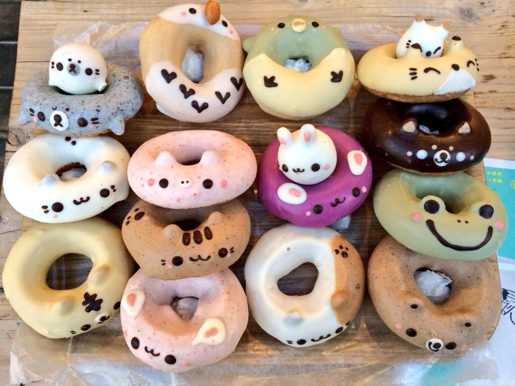 cute, donuts, food and sweet