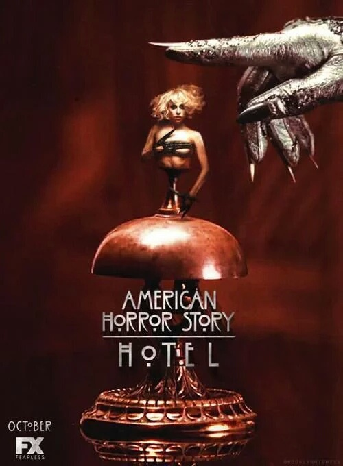 American horror story image 3676502 by taraa on for Ahs hotel decor