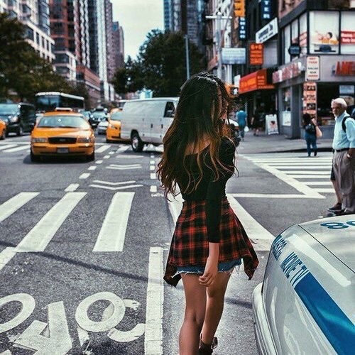 City Cute Fashion Flannel Girl Image 3709800 By Helena888 On