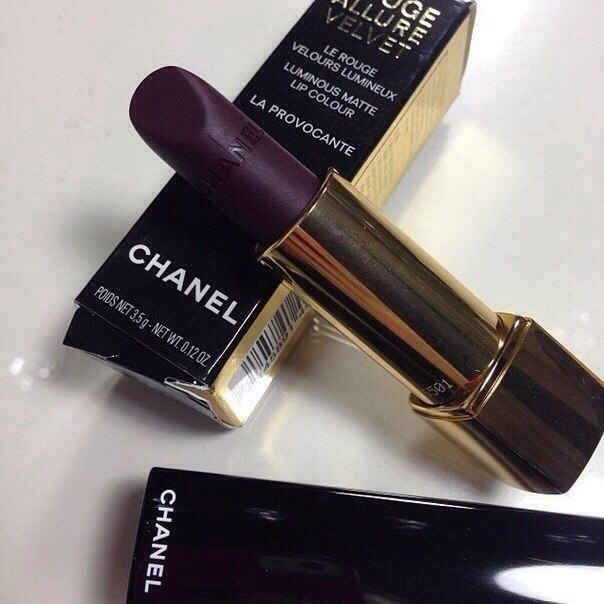 beauty, chanel, cosmetic, dark, lipstic, makeup, red